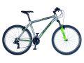 "Велосипед AUTHOR Profile (ростовка 19"") серебро/салатовый"