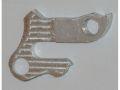 держатель заднего переключателя алюминий на рамы    , фрезерован